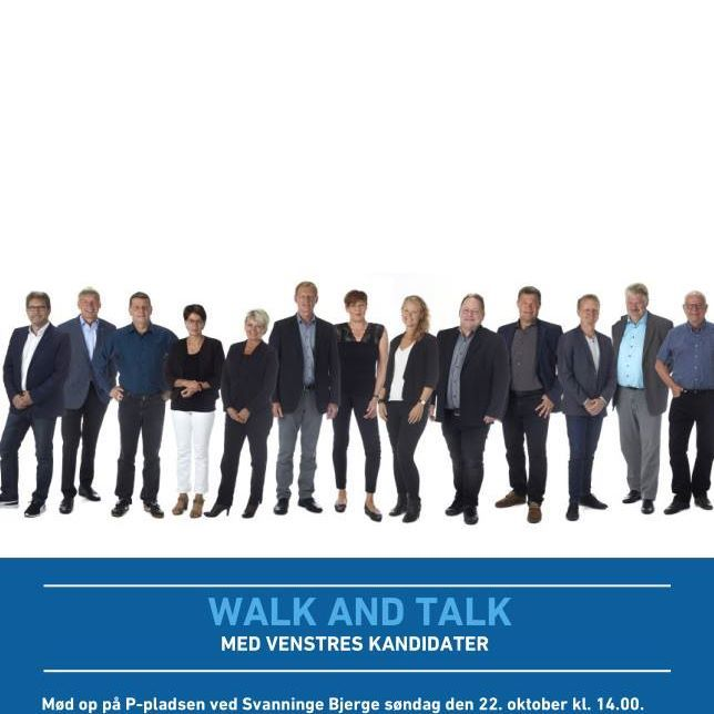 Walk and talk med Venstres kandidater